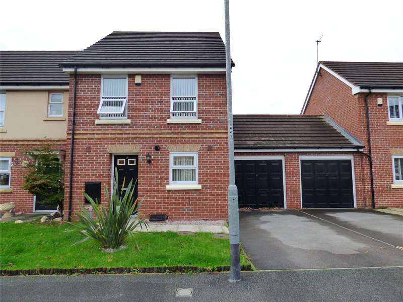 3 Bedrooms Semi Detached House for sale in Berryedge Crescent, Liverpool, Merseyside, L36
