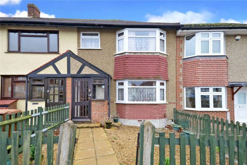2 Bedrooms Terraced House for sale in Browning Avenue, Worcester Park, KT4