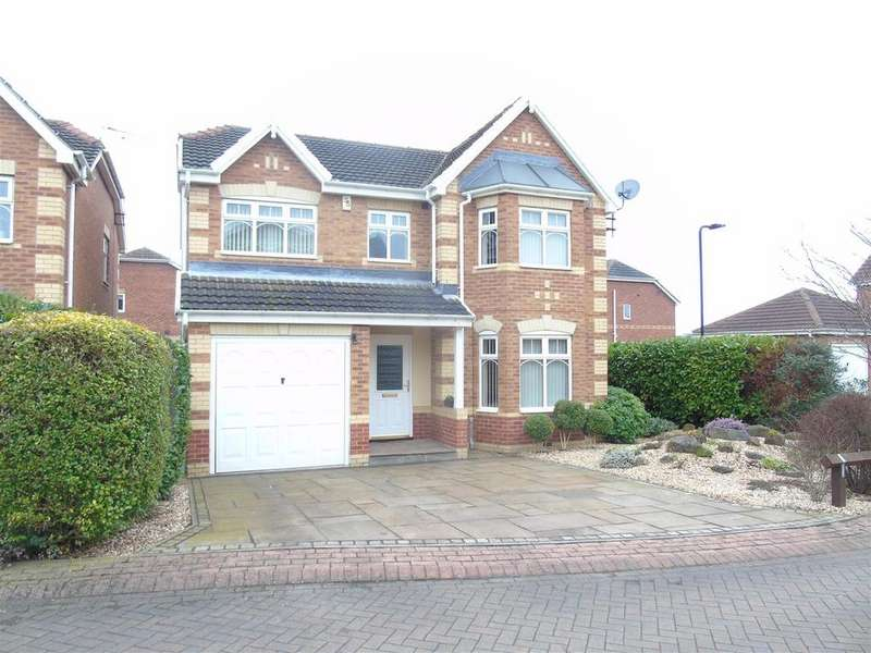 4 Bedrooms Detached House for sale in Imrie Place, Kiveton Park, Sheffield