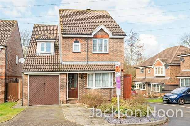 3 Bedrooms Detached House for sale in Woodland Walk, Ewell