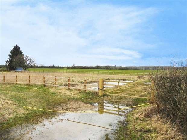 Land Commercial for sale in Honeydon Road, Colmworth, Bedford