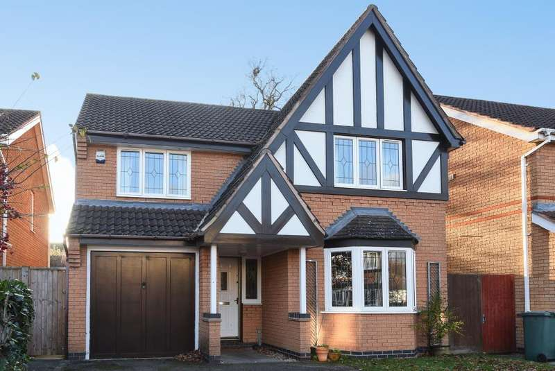 4 Bedrooms Detached House for sale in Partridge Chase, Langford Village, Bicester, OX26