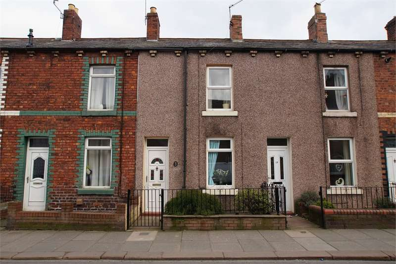 2 Bedrooms Terraced House for sale in CA2 4HH Boundary Road, Currock, Carlisle, Cumbria