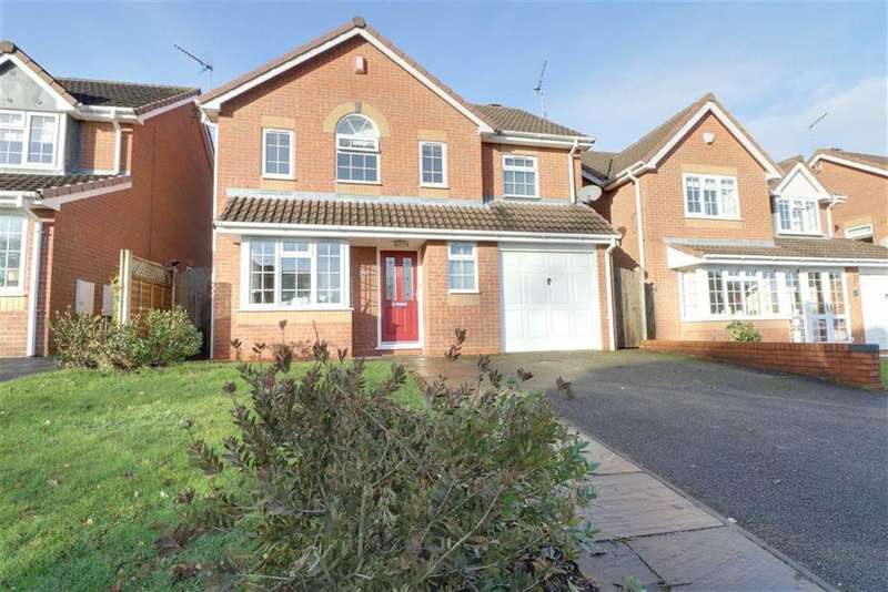 4 Bedrooms Detached House for sale in Mayock Crescent, Castlefields, Stafford