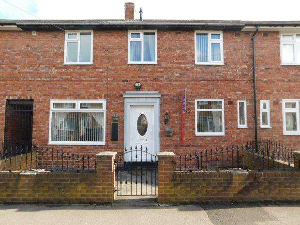 3 Bedrooms Terraced House for sale in ANNAND ROAD, GILESGATE, DURHAM CITY