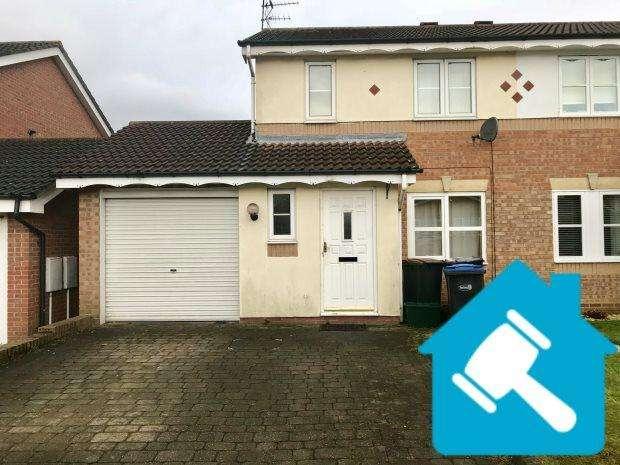 3 Bedrooms Semi Detached House for sale in RUNCIE ROAD, BOWBURN, DURHAM CITY : VILLAGES EAST OF