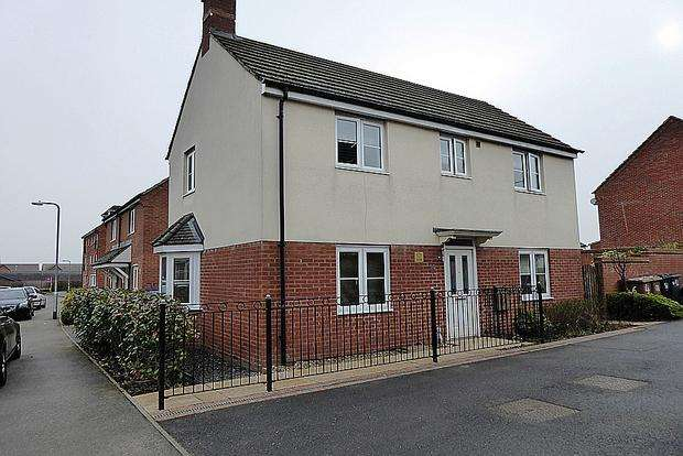 3 Bedrooms Detached House for sale in Milburn Drive, St. Crispins, Northampton, NN5