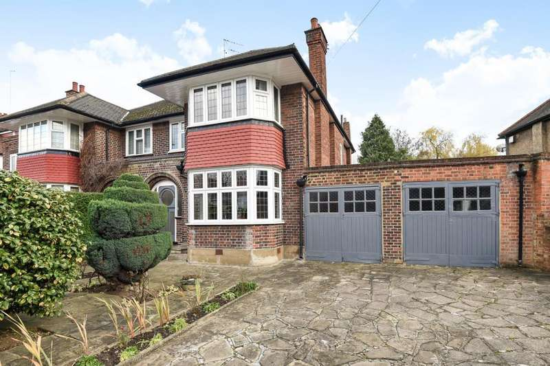 3 Bedrooms House for sale in Holders Hill Road, Mill Hill East, NW7