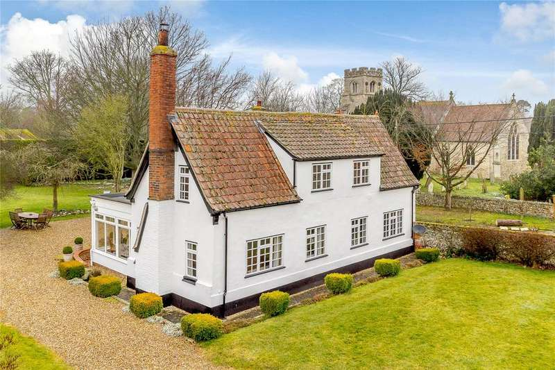 3 Bedrooms Detached House for sale in The Street, Herringswell, Bury St. Edmunds, Suffolk