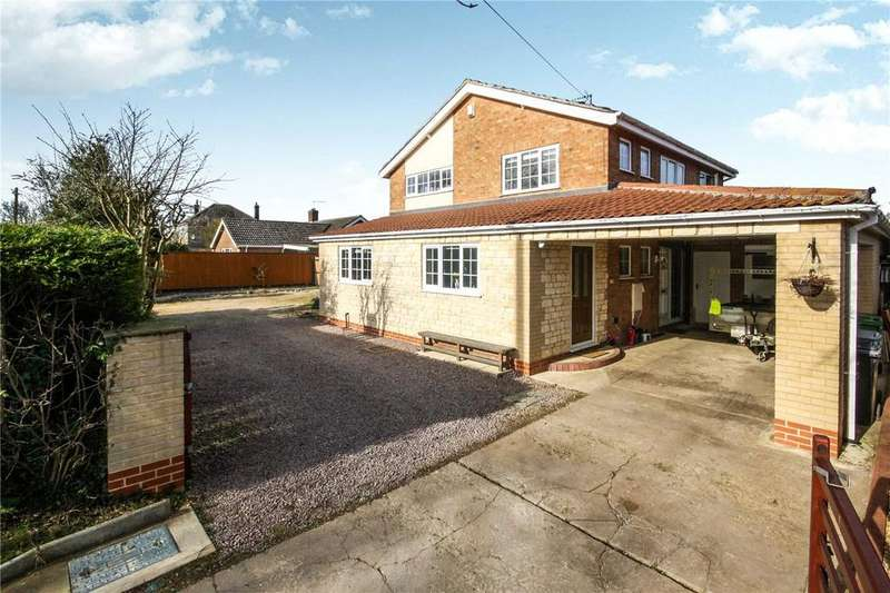 3 Bedrooms Detached House for sale in Folkingham Road, Billingborough, Sleaford, NG34