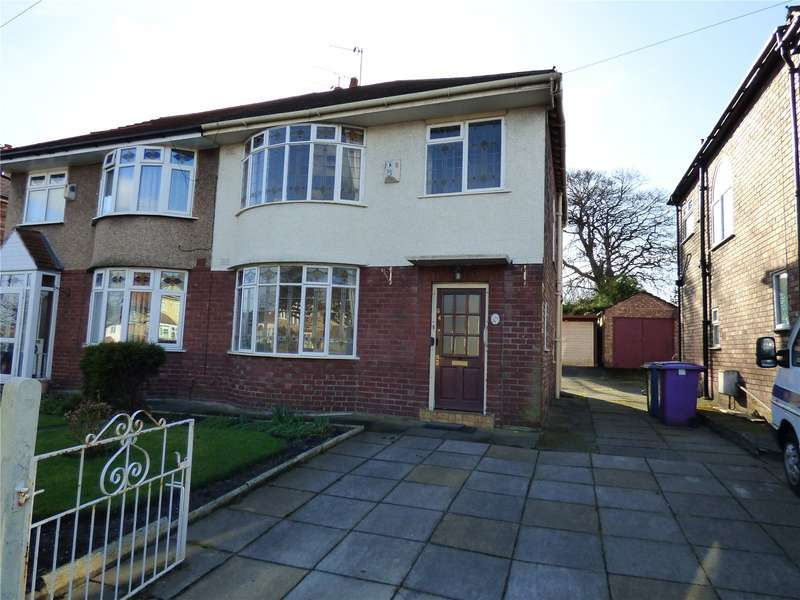 3 Bedrooms Semi Detached House for sale in Barnfield Drive, Liverpool, Merseyside, L12