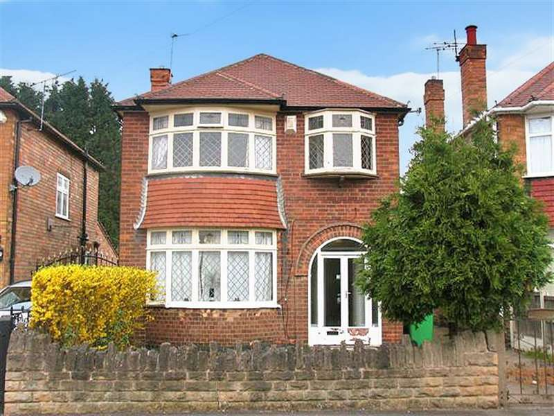 3 Bedrooms Detached House for rent in Seaford Avenue, Wollaton, Nottingham, NG8 1LA