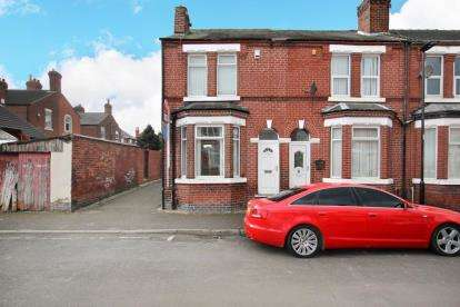 3 Bedrooms End Of Terrace House for sale in Salisbury Road, Doncaster