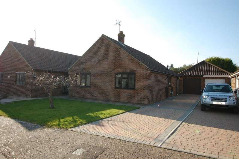 3 Bedrooms Detached Bungalow for sale in Fairfield Close, Mundesley