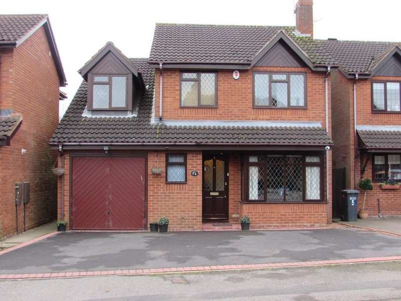 4 Bedrooms Detached House for sale in Halstead Grove, Solihull