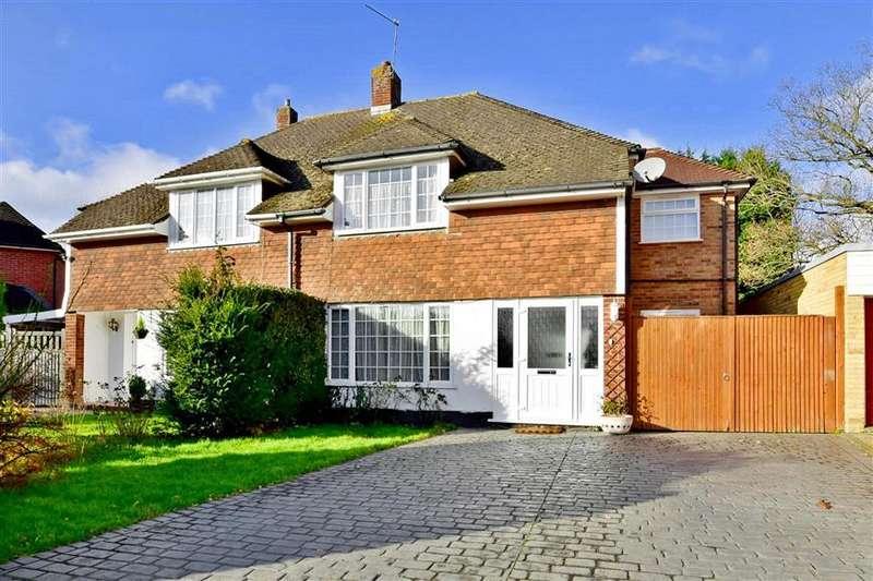 5 Bedrooms Semi Detached House for sale in Fernholt, Tonbridge, Kent