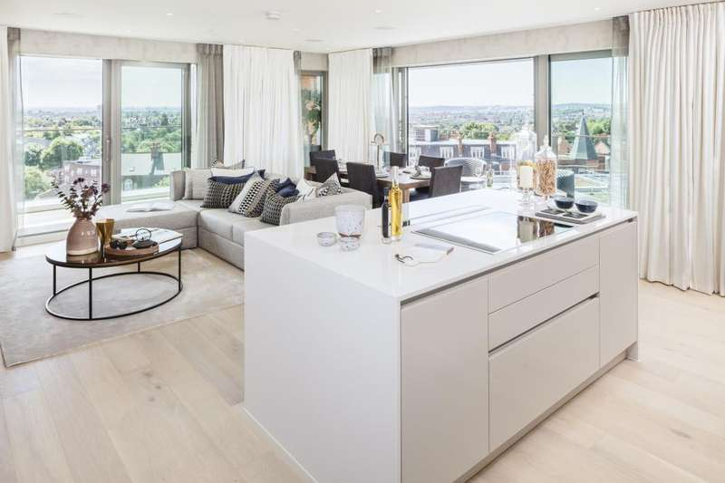 3 Bedrooms Flat for sale in Rackham House, Kidderpore Green, Kidderpore Avenue, NW3