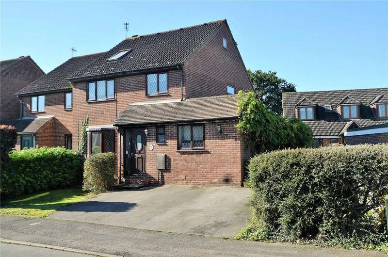 4 Bedrooms Semi Detached House for sale in Cavalier Close, Theale, Reading, RG7