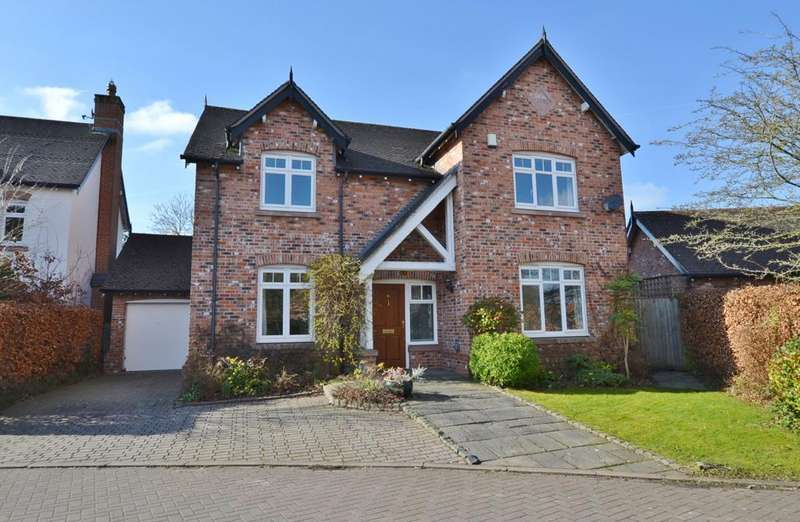 4 Bedrooms Detached House for sale in Fieldside Close, Goostrey