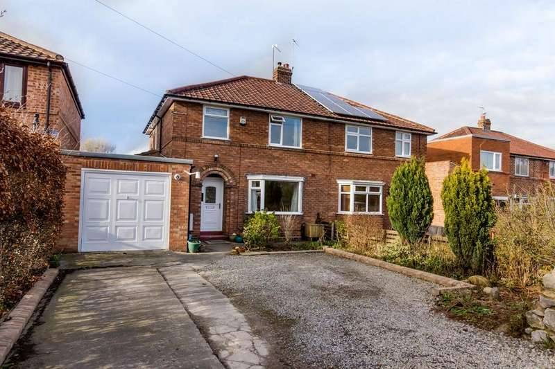 3 Bedrooms Semi Detached House for sale in Alwyne Grove, Off Shipton Road, York