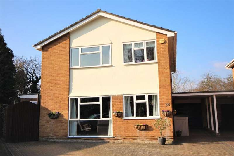4 Bedrooms Detached House for sale in Wenlock Edge, Charvil, Reading