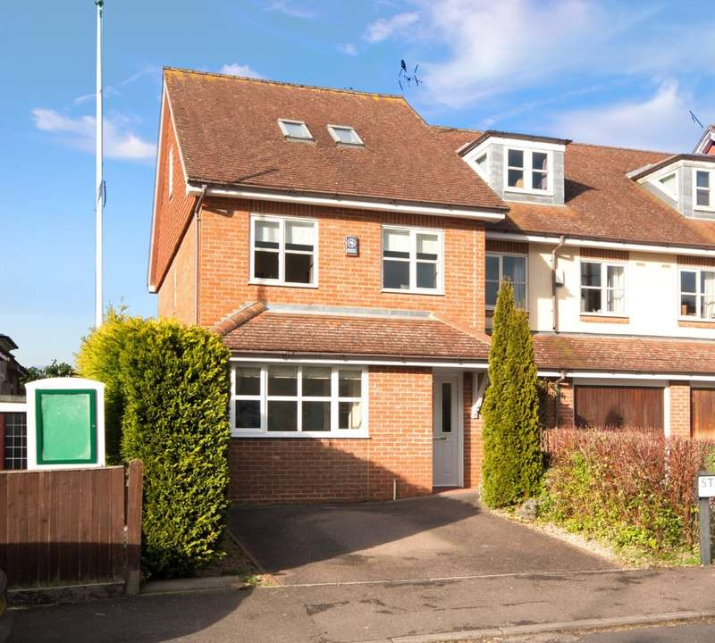 4 Bedrooms End Of Terrace House for sale in Warwick Road, South Holmwood, Dorking