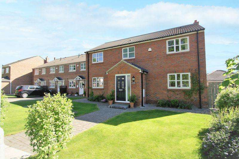 4 Bedrooms Detached House for sale in Manor Cottage, Manor Place, Stockton, TS19 7HF