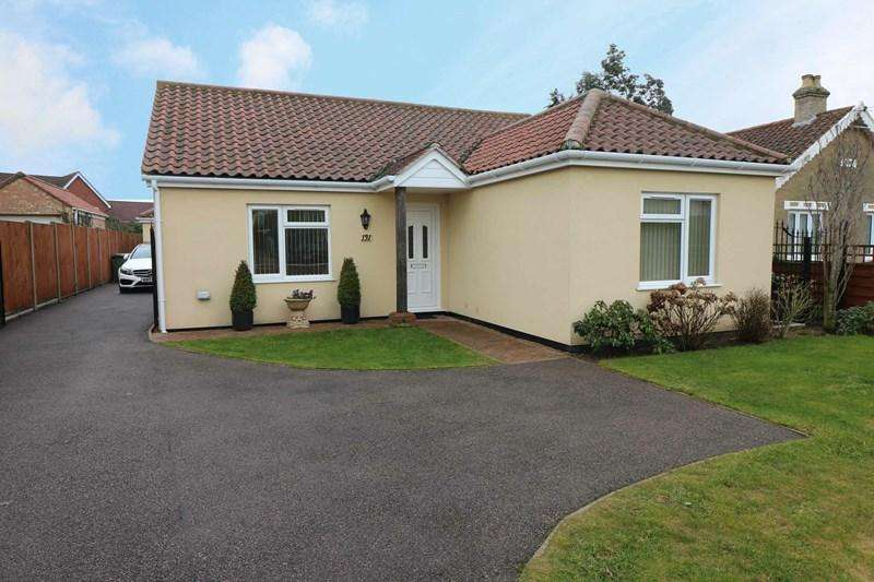 3 Bedrooms Detached Bungalow for sale in Besthorpe Road, Attleborough