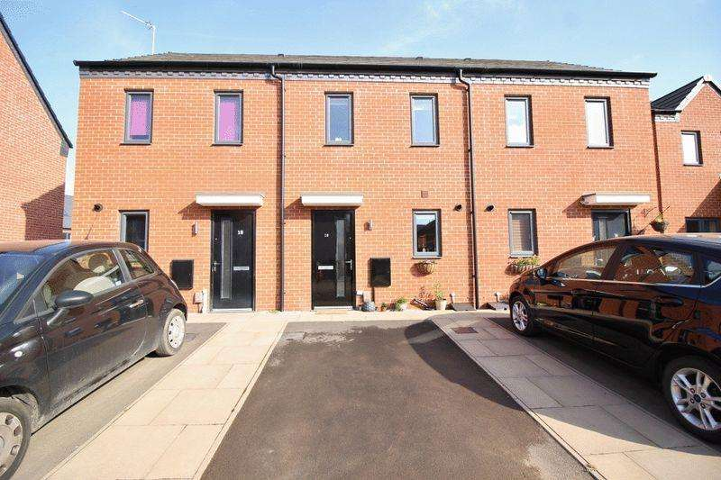 2 Bedrooms Terraced House for sale in Akron Drive, Akron Gate, Wolverhampton