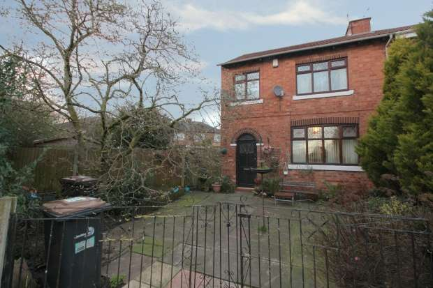 3 Bedrooms Semi Detached House for sale in White Avenue, Crewe, Cheshire, CW2 7SH