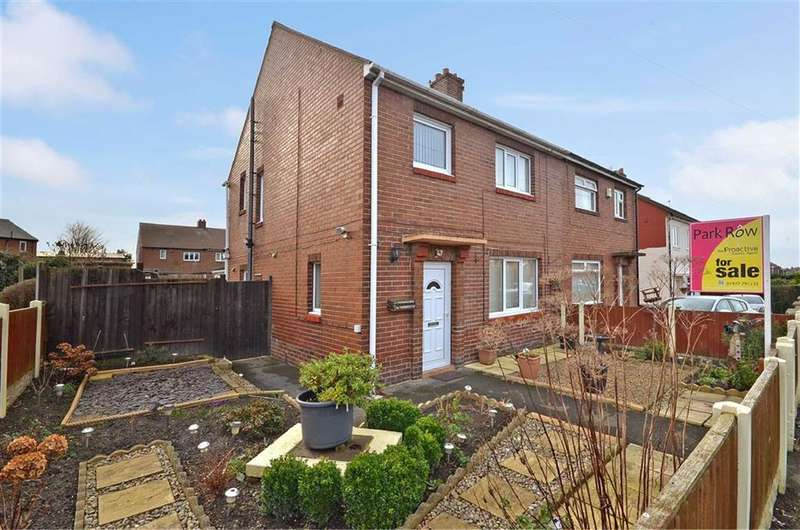 3 Bedrooms Property for sale in Leatham Crescent, Featherstone, Pontefract, WF7