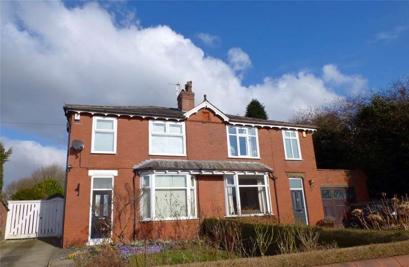 3 Bedrooms Semi Detached House for sale in Heywood Hall Road, Heywood, Lancashire, OL10