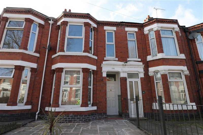 3 Bedrooms Terraced House for rent in Ruskin Road, Crewe