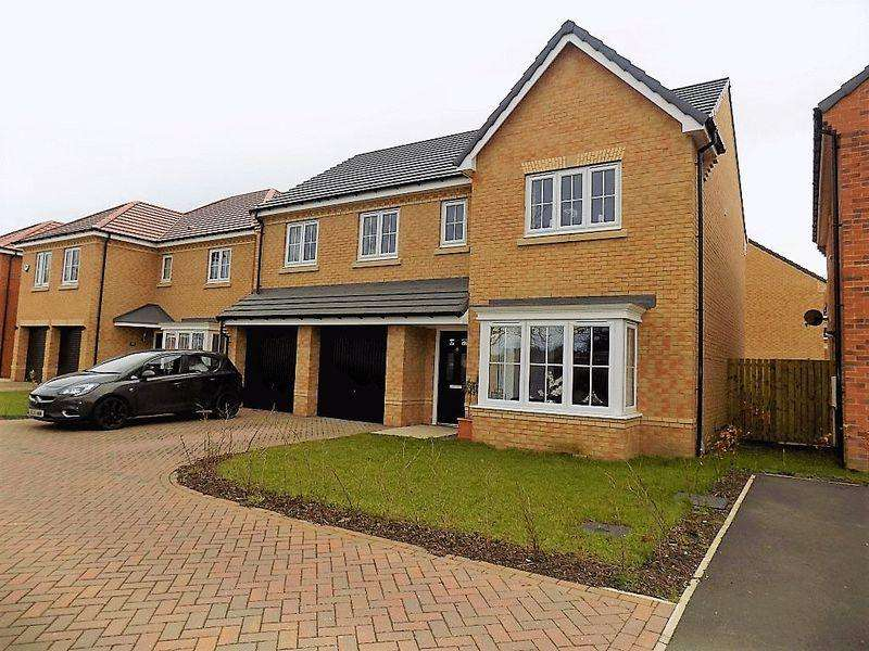 5 Bedrooms Detached House for sale in St. James Gardens, Bedlington