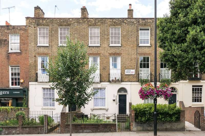 2 Bedrooms Apartment Flat for sale in Lisson Grove Marylebone NW1