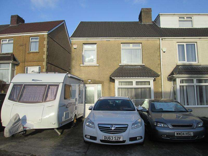 3 Bedrooms Semi Detached House for sale in Pentregethin Road, Gendros, Swansea, City And County of Swansea.