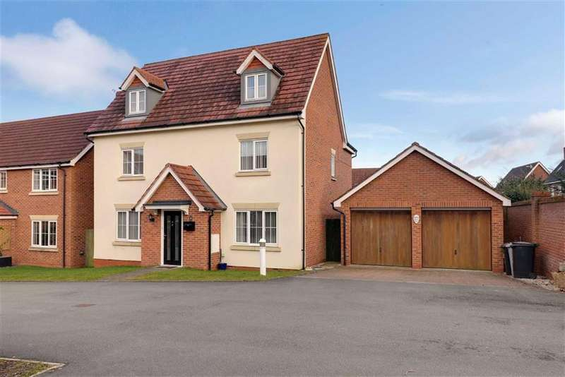 5 Bedrooms Detached House for sale in Chadwell Court, Wychwood Village, Crewe