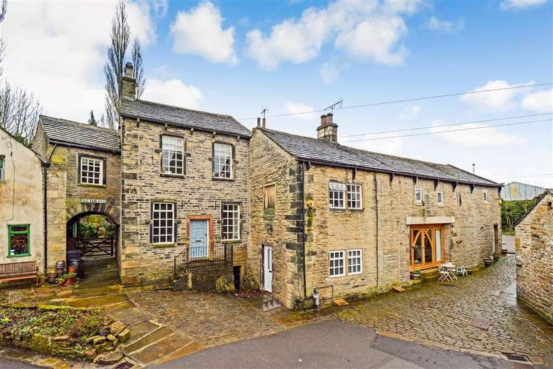 3 Bedrooms Barn Conversion Character Property for sale in Old Bank, Ripponden