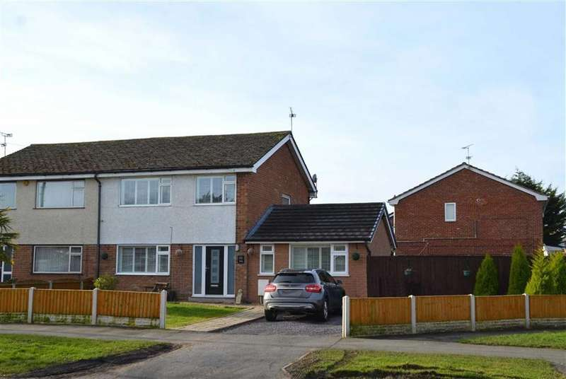 4 Bedrooms Semi Detached House for sale in Overpool Road, Great Sutton, CH66