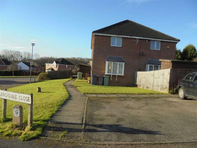 1 Bedroom Town House for rent in Larchdale Close, South Normanton, Derbys, DE55