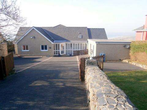 5 Bedrooms Detached House for sale in Hendre Mur, Old Llanfair Road, Harlech LL46