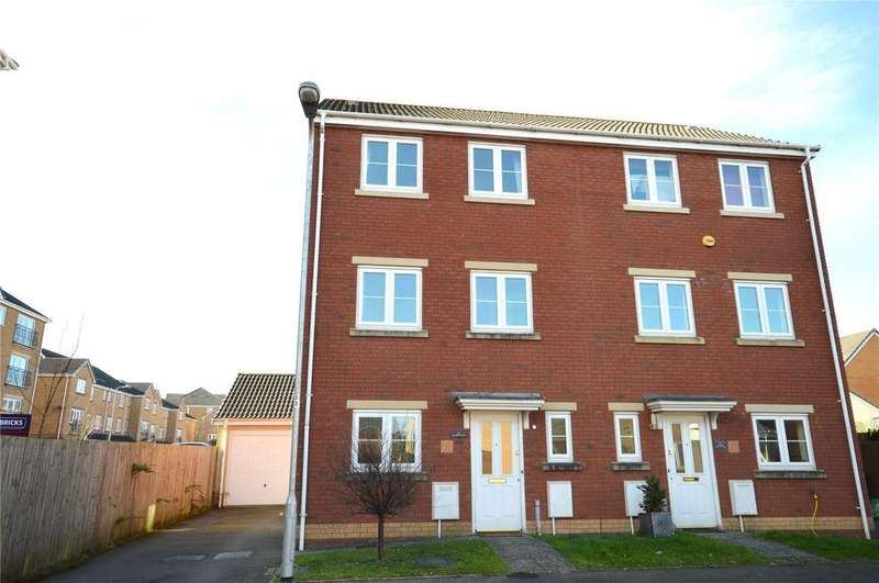 4 Bedrooms Semi Detached House for sale in Wyncliffe Gardens, Pentwyn, Cardiff, CF23