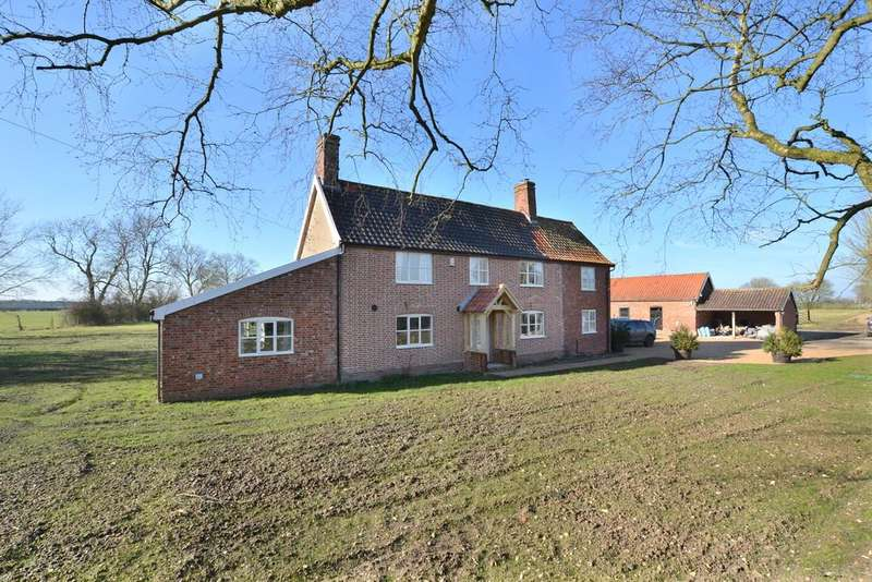 4 Bedrooms Detached House for sale in Winfarthing, Norfolk