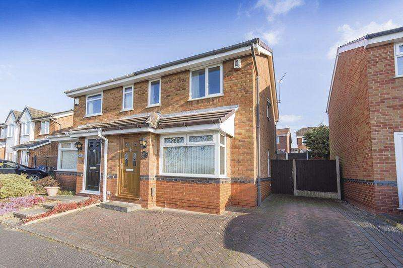 2 Bedrooms Semi Detached House for sale in ALSAGER CLOSE, OAKWOOD
