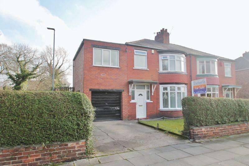 4 Bedrooms Semi Detached House for sale in Grosvenor Road, Linthorpe