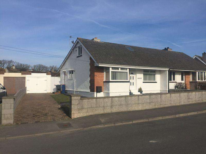 2 Bedrooms Semi Detached Bungalow for sale in Holyhead, Anglesey