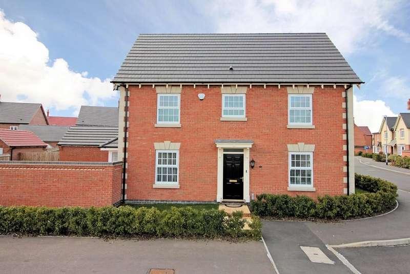4 Bedrooms Detached House for sale in Baker Grove, Ibstock