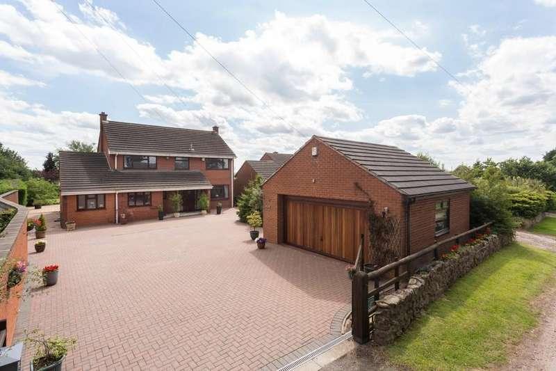 4 Bedrooms Detached House for sale in Skeath Lane, Sandon Bank, Stafford