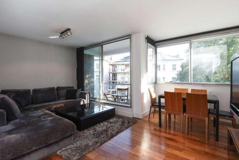 2 Bedrooms Flat for sale in Eton Avenue, Belsize Park