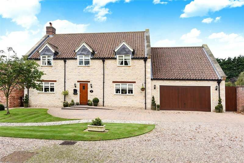 4 Bedrooms Detached House for sale in Middle Yard, Osbournby, NG34